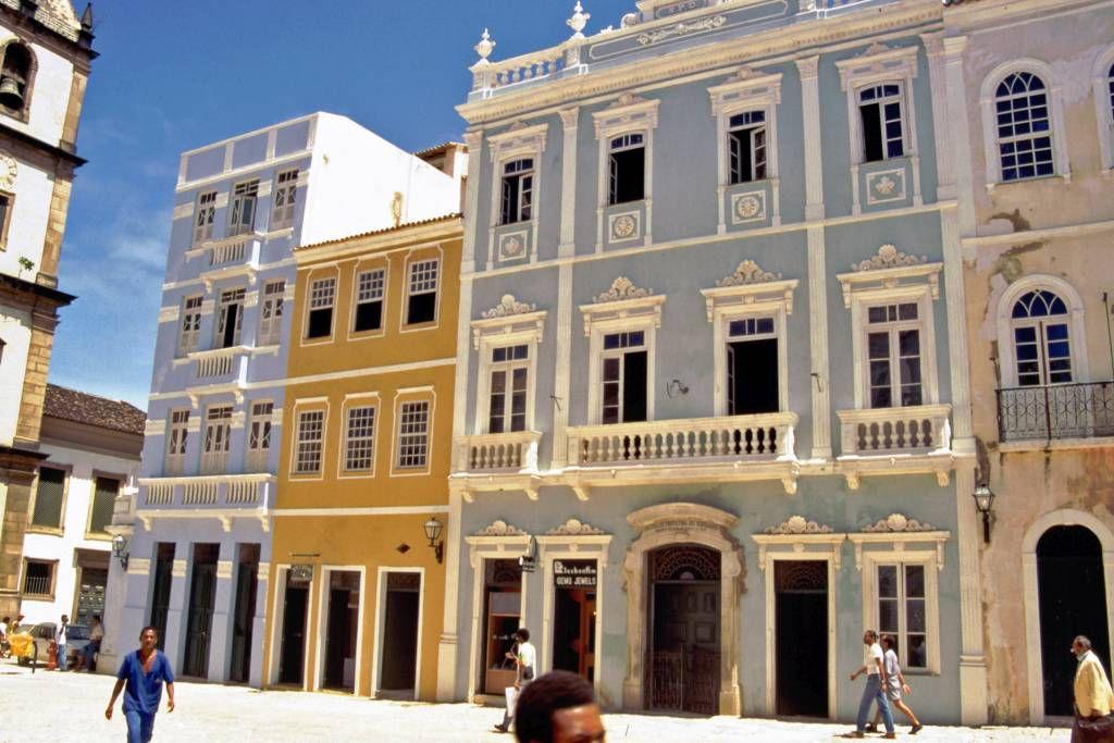 Savador da Bahia, Gebäude am Praca de Sé