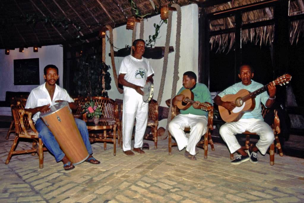 In der Pousada Pria do Forte, Abendunterhaltung