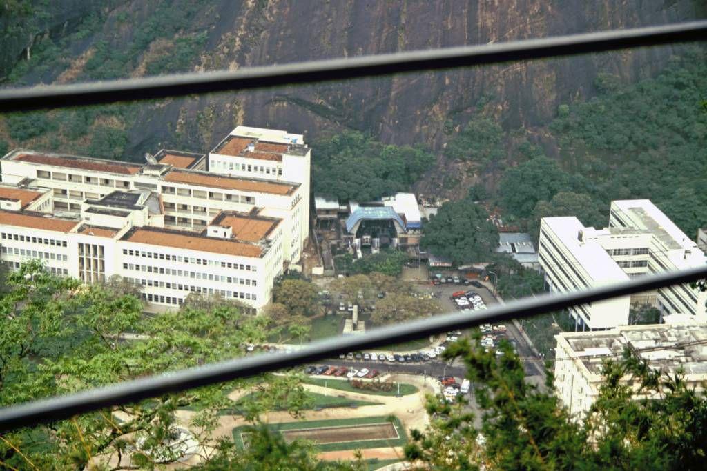 Rio de Janeiro, Seilbahn zum Zuckerhut, Talstation