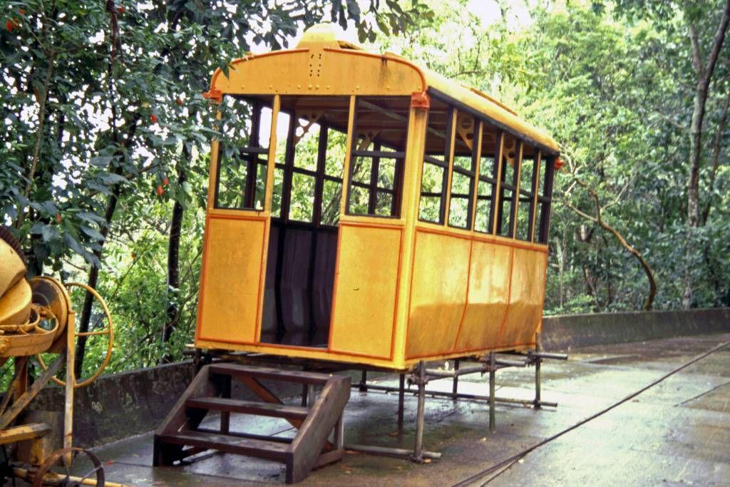 Rio de Janeiro, Seilbahn zum Zuckerhut, Bergstation