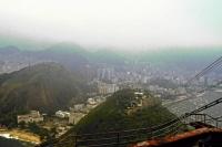 Rio de Janeiro, Seilbahn zum Zuckerhut, Bergstation Aussicht