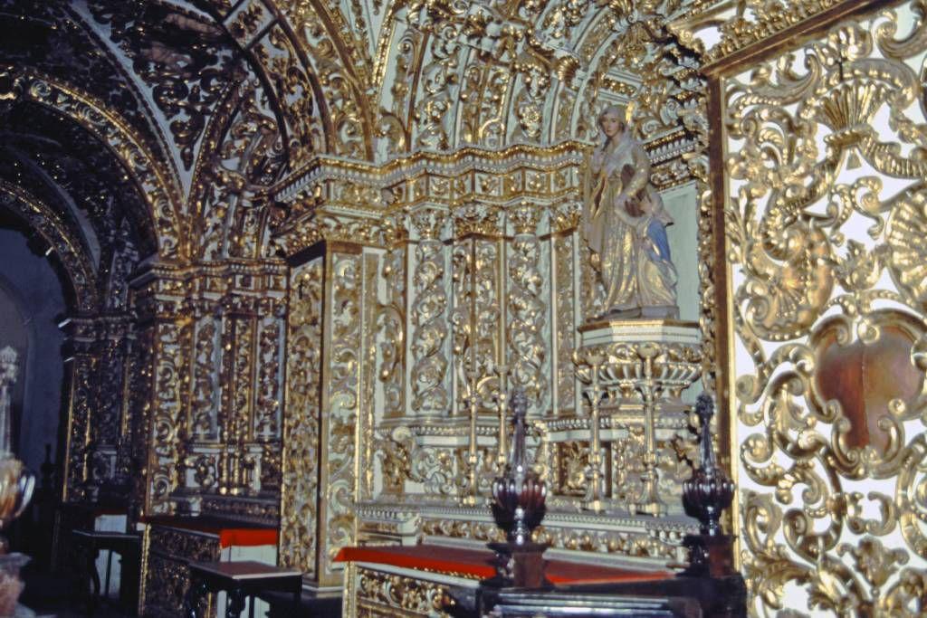 Salvador do Bahia, Catedral Basílica de Salvador von innen