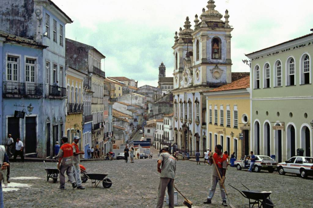 Salvador do Bahia, Largo do Pelourinho