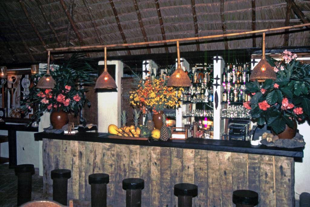 In der Pousada Praia do Forte, Bar