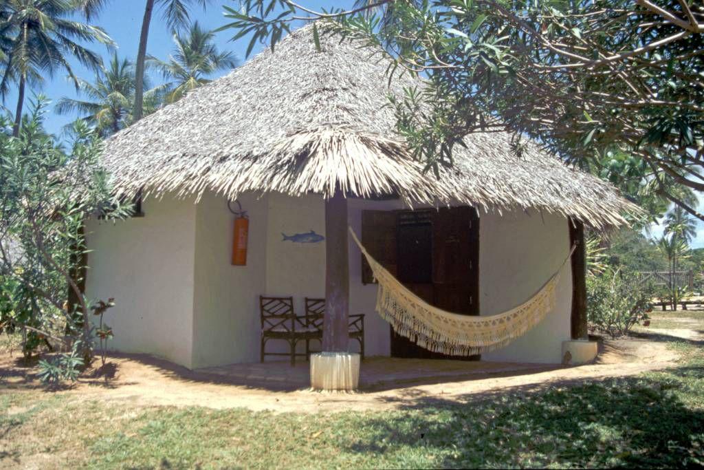In der Pousada Praia do Forte, Bungalow