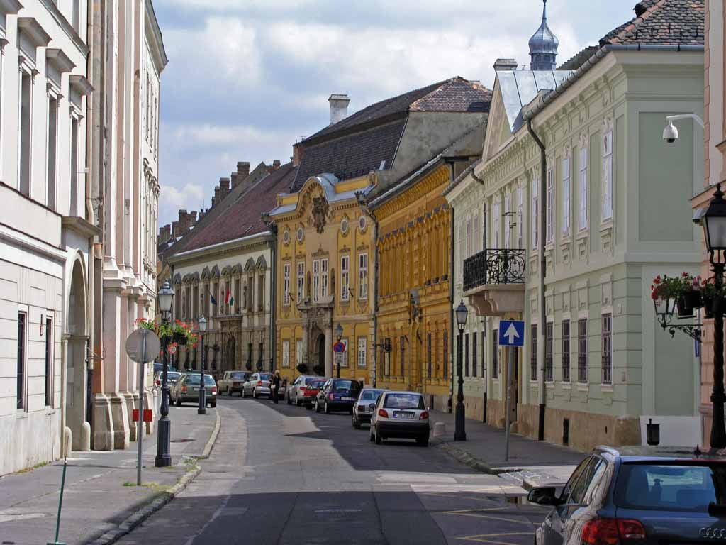 Die Herrenstraße im Burgviertel