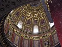 Die Kuppel der Sankt Stephans Basilika