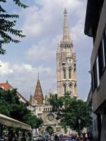 Blick auf die Matthiaskirche