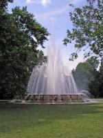 Springbrunnen auf der Margareteninsel