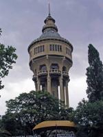 Wasserturm auf der Margareteninsel