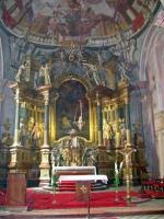 Altarraum einer Kirche in der Váci Straße