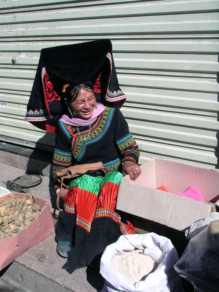 Shangri-La, Marktfrau