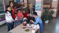 Qudong, Mittagspause
