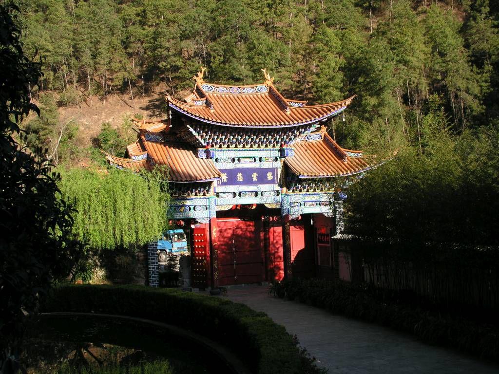 Wangguantun, Kloster