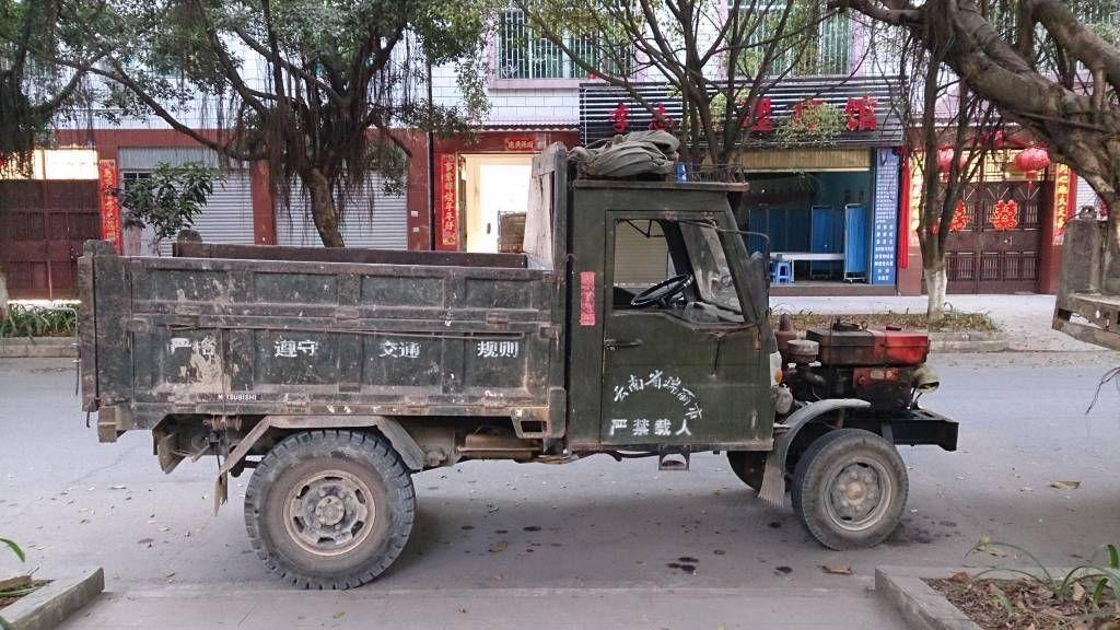 Ruili, alter Lastwagen