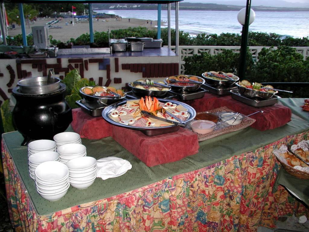 Sosua, Hotel Sosua by the Sea, Buffet