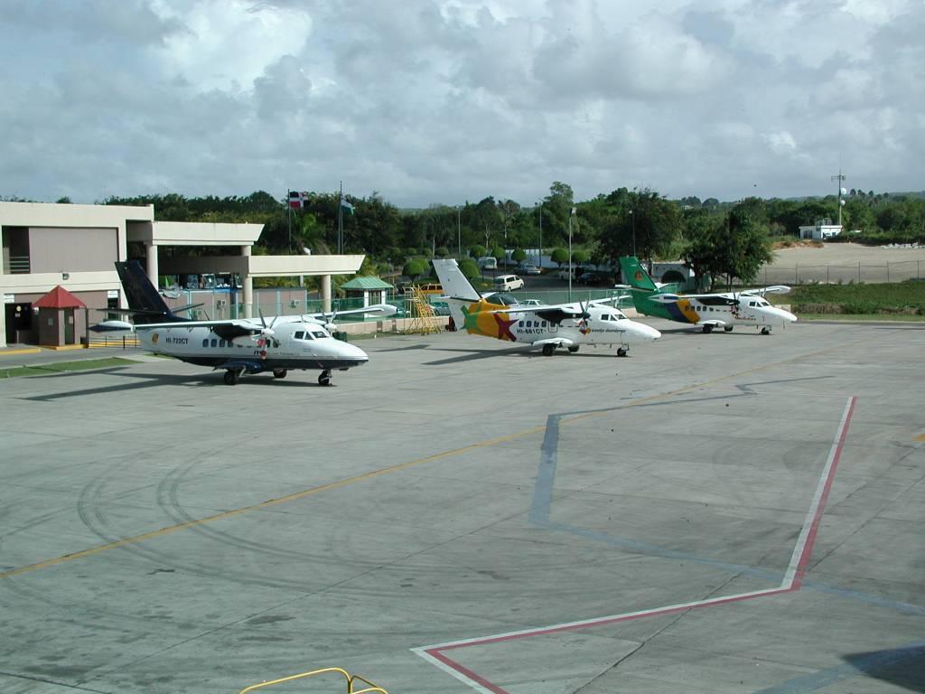 Puerto Plata, Flughafen, Rückflug