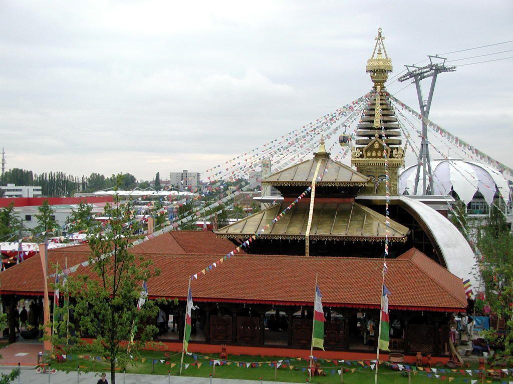 Pavillon von Nepal