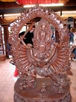 Im Pavillon von Nepal
