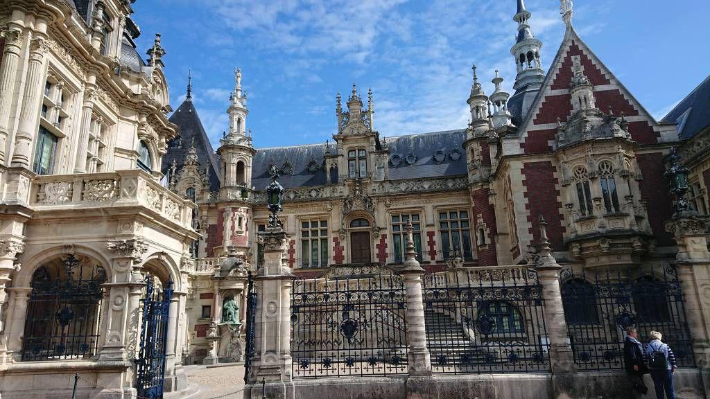 Fécamp, Palast der Benediktiner