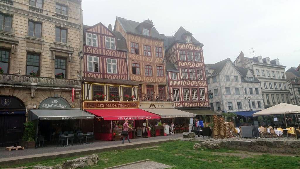 Rouen, Place du Vieux Marché