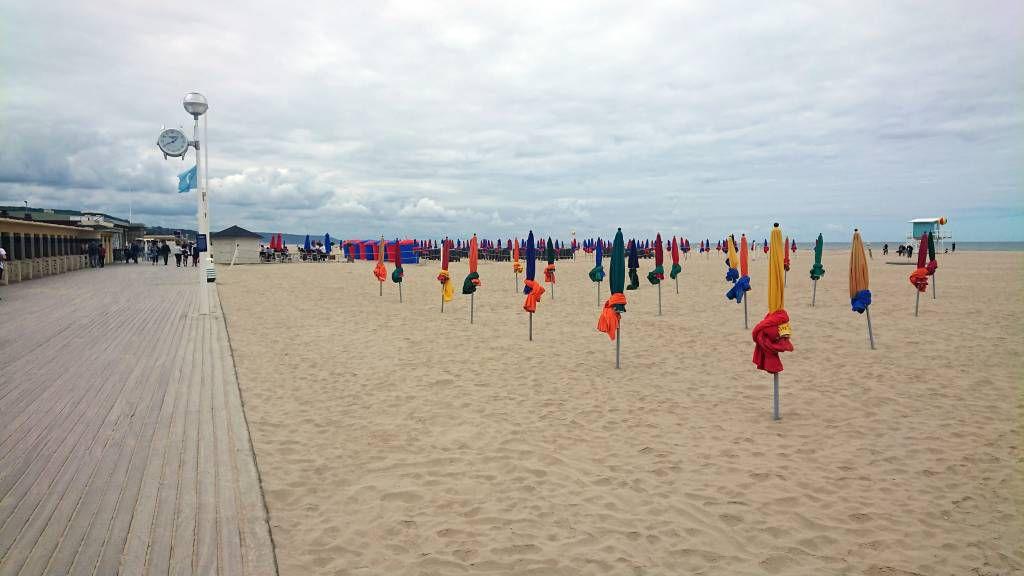 Deauville, Strand