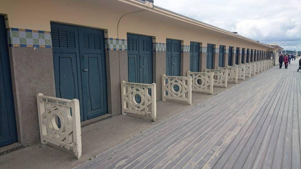 Deauville, Strand, Strandhäuser