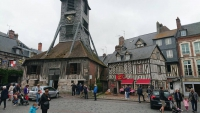 Honfleur, Holzkirche und Fachwerkhäuser