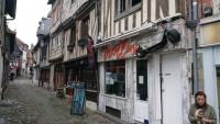 Honfleur,Altstadt, Fachwerkhäuser
