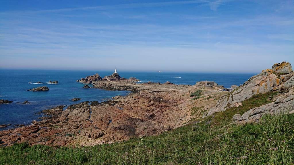 Jersey, Le Grouet, Leuchtturm