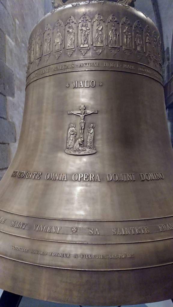 Saint-Malo, Altstadt, Glocke