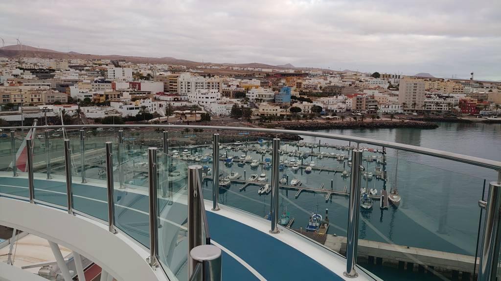 Fuerteventura, Blick auf Puerto del Rosario