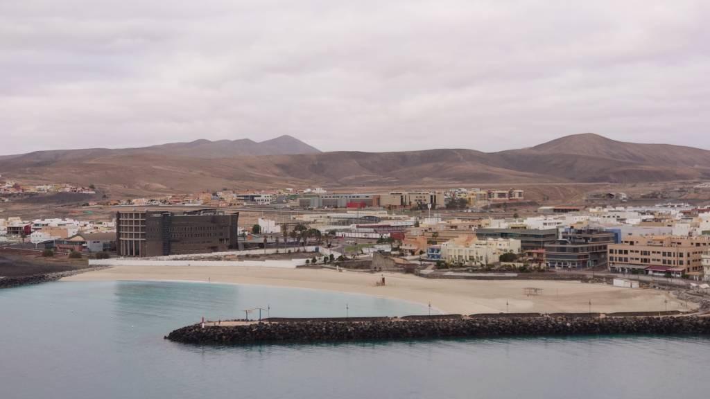 Fuerteventura, Puerto del Rosario, Strand
