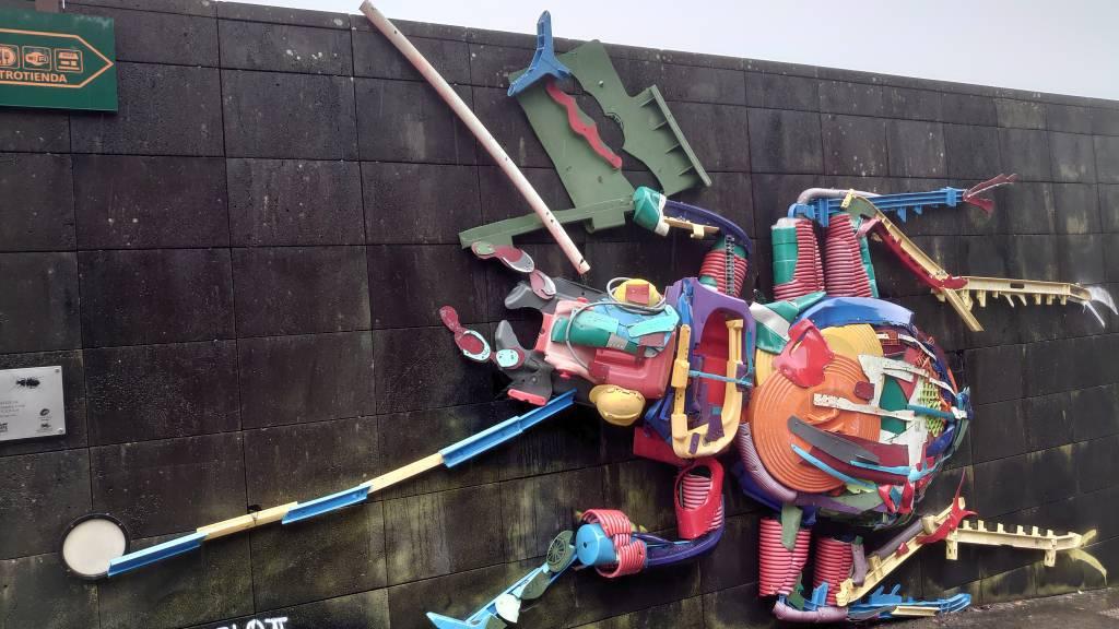 Teneriffa, Cruz del Carmen, Kunstwerk