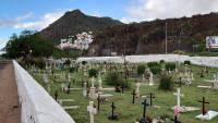 Teneriffa, San Andrés, Friedhof