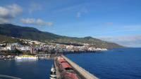 La Palma, Blick auf Santa Cruz