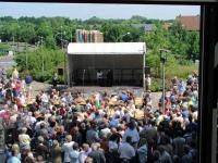 Blick auf die Bühne am 22.06.2003