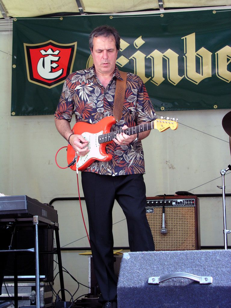 Tommie Harris & Seventh Son am 18.07.2004