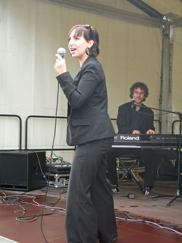 Jessy Martens & Jan Fischers Blues Support am 19.07.2009