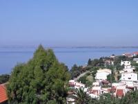 Gerakini, Hotel Glavas Inn, Aussicht von unserem Zimmer