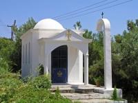 Gerakini, kleine Kapelle in Strandnähe