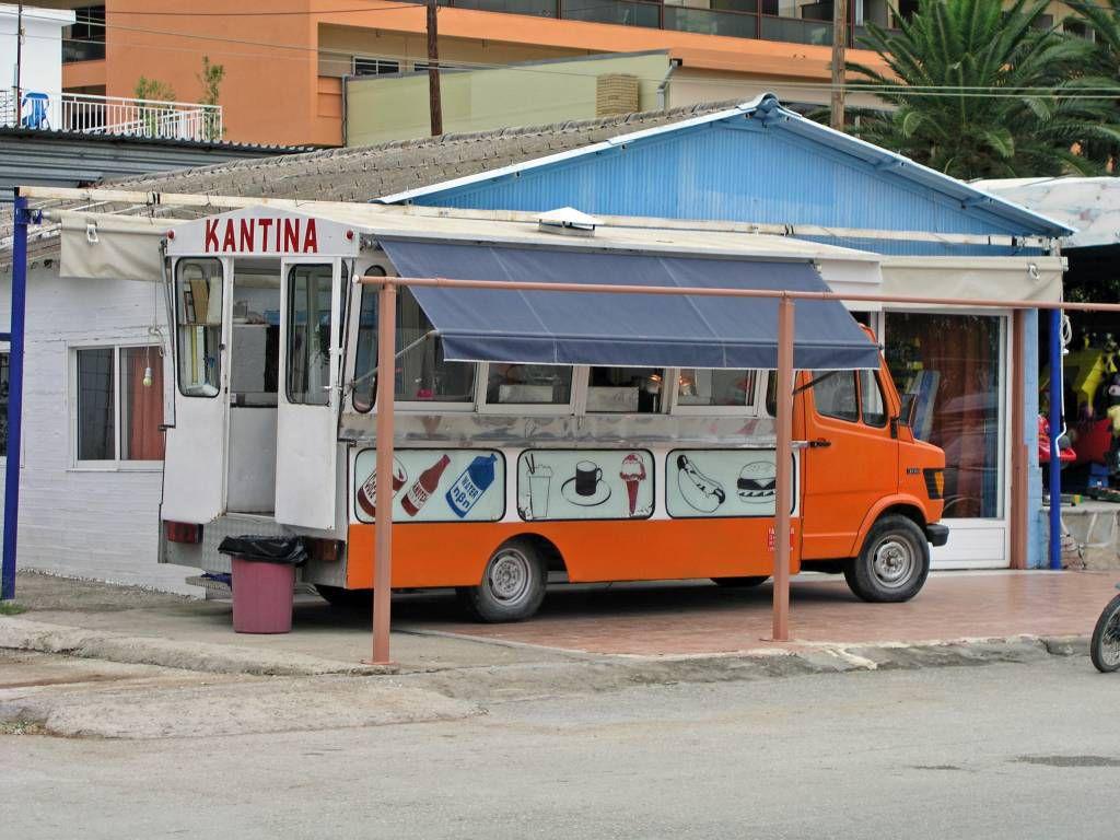 Psakoudia, Verkaufswagen