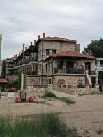 Psakoudia, Gebäude