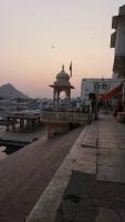 Pushkar, Sonnenuntergang
