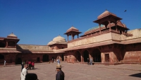 Fatehpur, alte Hauptstadt des Kaisers Akhbar