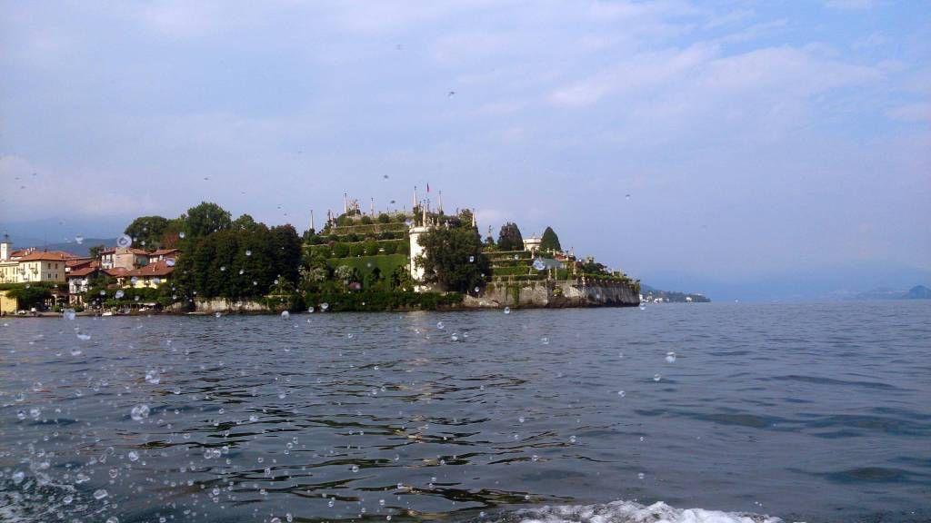 Isola Bella, Palazzo Borromeo, Blick von Lago Maggiore