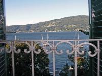 Lago Maggiore, Suna, Hotel Pesce D'Oro, Aussicht vom Zimmer