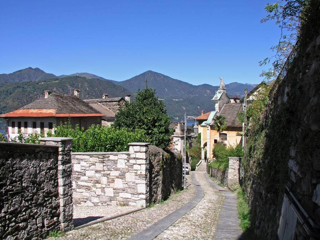 Orta San Giulio, Weg  zum Sacro Monte di Orta