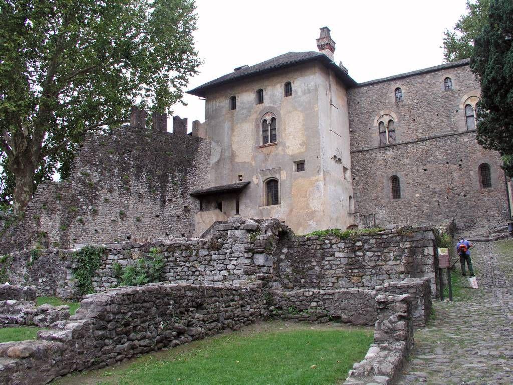 Locarno, Castello Visconteo di Locarno, Stadt- und Archäologiemuseum