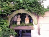 Orta San Giulio, Eingangsschild